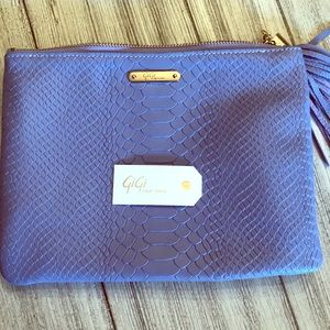 Brand new with tag Gigi New York clutch
